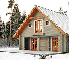 Строительство домов из лафета в Мытищах