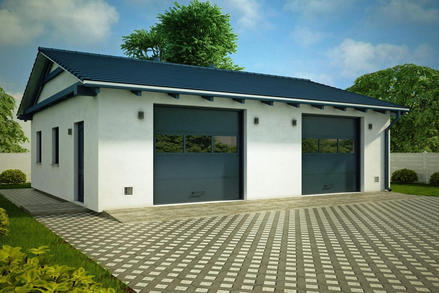 Строительство гаражей под ключ в Мытищах